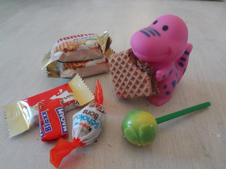 """""""Möchtest du einen Lolli?"""" Von zu vielen Süßigkeiten an der Kasse"""