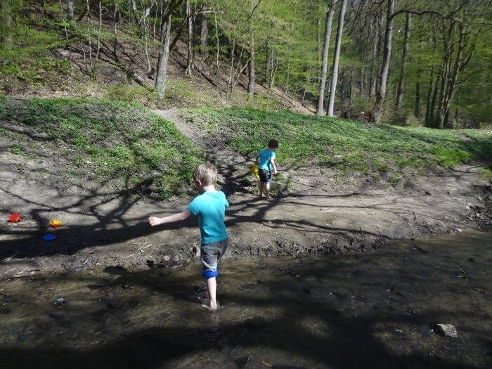 Als die Kinder den Wald verließen